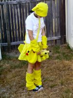 Pikachu Costume by Inane-Memories