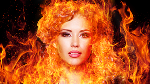 PHOTOSHOP - Fire Effect by sanderndreca