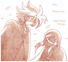 Thank You, Saint Seiya Omega by SoftMonKeychains