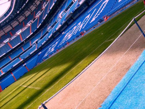 Real Madrid Stadium, For Real by crimsonbetrayal
