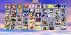Super Smash Bros. 4 Wii U Character Predictions v2 by HeavyMetalLover91