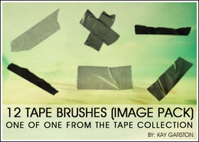 TAPE BRUSH IMAGE PACK by Special-K-001