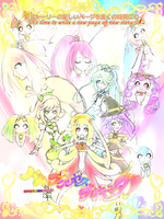 Battle Princess Precure! by SilverRose808