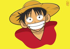 One Piece - Monkey D Luffy by GHussain