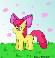 Little Apple Bloom by shaina773