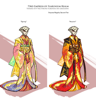 50min Speed drawing ref -- Empress Graileann by StellarStateLogic