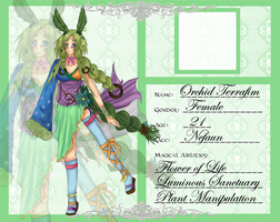 AW .:Orchid Terrafim:. by Snowflake-Feather