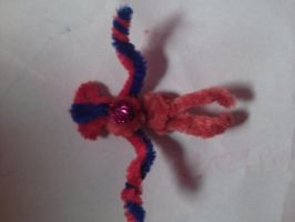 pipecleaner deoxys by Evometheus6082