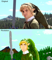 Flock Draw Ian Link Rap w/ Lovehammergirl23 by Honey-PawStep