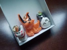 CUTE Clay Charms by aoi9875