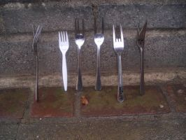 Fork lineup by muzzii