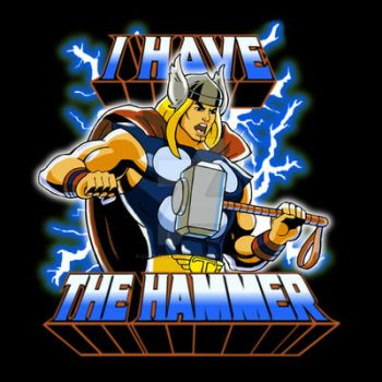 Thor I Have The Hammer 2016 by LucasAckerman