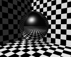 Checker Ball by Steven-Becker