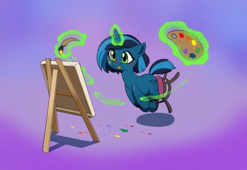 COM Moon Sketcher by doubleWbrothers