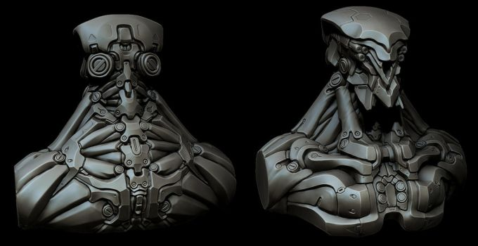 Robot WIP 3 by panick
