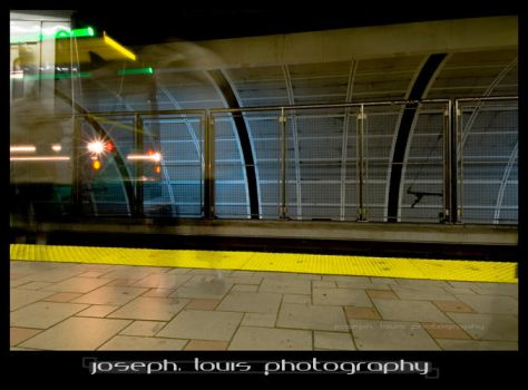 ghost train by josephlouis