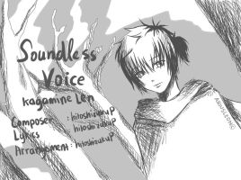 Soundless Voice - Kagamine Len by AriusLeon