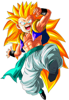 Gotenks SS3 by alexiscabo1