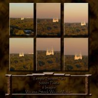 Temple sunset wicasa-stock by Wicasa-stock