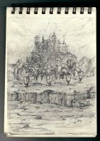 Sketch -Moving Castle- by Sephiroth-Art