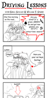 Driving Lessons with Grell and William by SweetLittleVampire