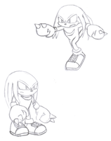Sonic Generations Knuckles by teniuq4444