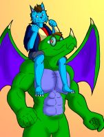 DC and Me ArtTrade by paladin095