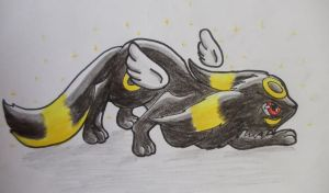 Nr 197 Umbreon by shadowhatesomochao