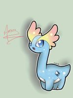 Pokemon X and Y: Amaura by NeonCelestia20