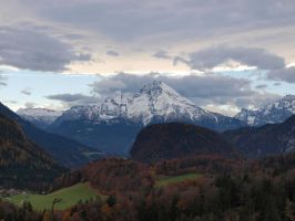Mount Watzmann by Burtn