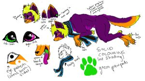 Contest Entry Ref - FizzyDragon by InfernalEvanesce