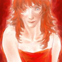 HP - Lady In Red by bluestraggler