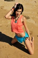 Teigan - orange and blue reprised 1 by wildplaces