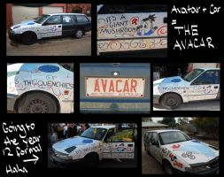 Avatard meets car by irrevocably-delicous