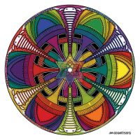 Evolution Coloured by Mandala-Jim