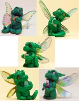 More Pixie Dragons by The-GoblinQueen