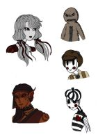Original characters by Lily-pily