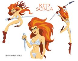 Red Sonja by BrandonVietti