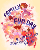 Family Fun Day Poster by Naomame