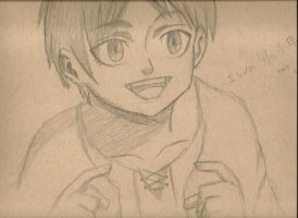Kid Eren by Jinchuruki-Gojira