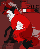 Flare character sheet by spagetti-sauce
