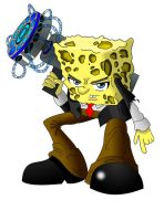 "Epic Spongebob ""Colored"" by Tails1000"