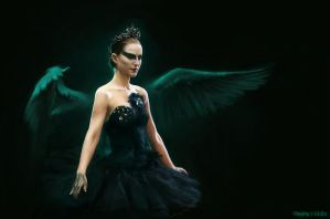 I can dance the black swan, too. by Oephy