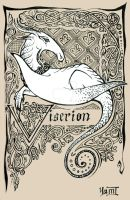 ASoIaF: Viserion by Ink-Yami