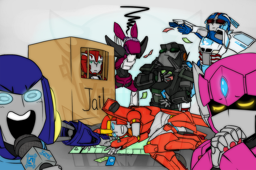 Draw the Squad 3 by Sidian-VenBlu