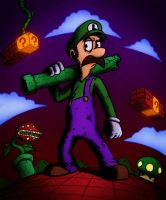 Luigi by Kid-With-The-Hat