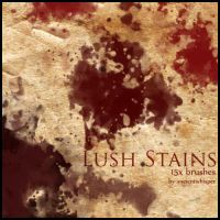 Lush Stains - Brushset by synchronetta