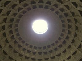 Dome of the Pantheon by MandarinManMark