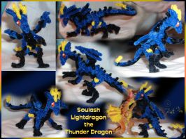 Soulash -- Pipecleaners by kalicothekat