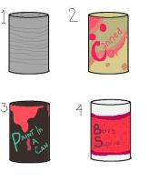 Surprise! Cans Auction [closed] by opadopts